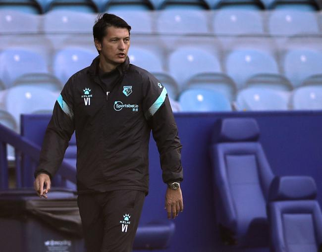 Vladimir Ivic felt Watford were fortunate not to lose at Wycombe. Picture: Action Images
