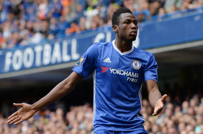 Baba Rahman at Chelsea. Picture: Action Images