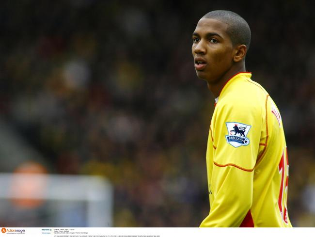 Ashley Young during his time at Watford. Picture: Action Images