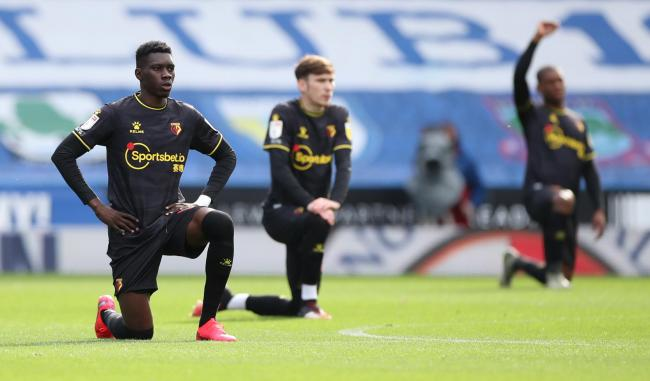 Ismaila Sarr could be back for Wednesday's game against Blackburn Rovers. Picture: Action Images