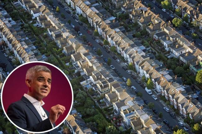 Sadiq Khan said he was able to limit the increase to 'less than half of what some expected'. Credit: PA/Newsquest