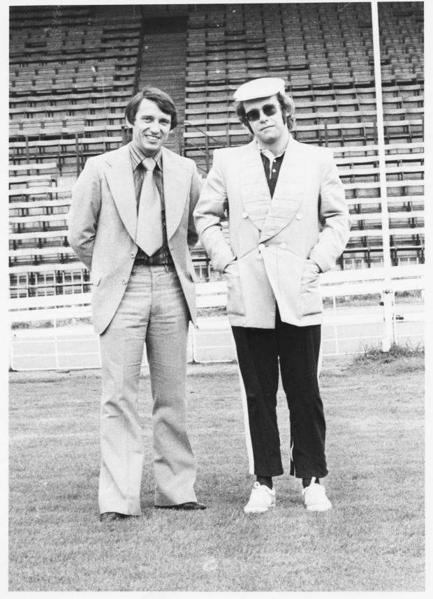 Harrow Times: Elton John brought Graham Taylor to Vicarage Road in 1977