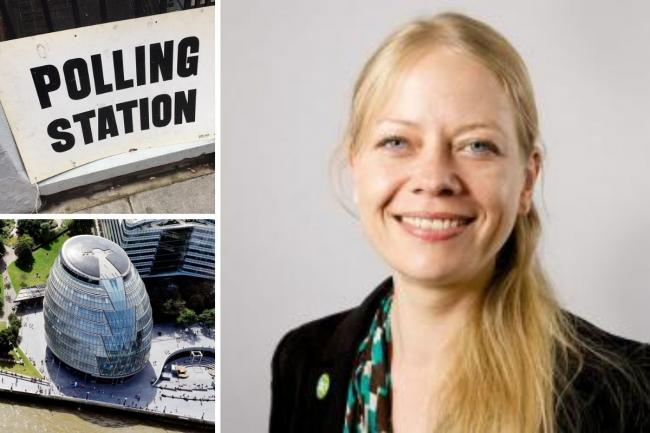 Green Party candidate Sian Berry has suggested that the London Mayor election be postponed again. Credit: GLA/Newsquest