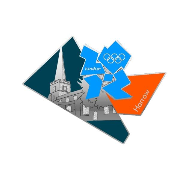 St Mary's Church is featured on the Olympic badge