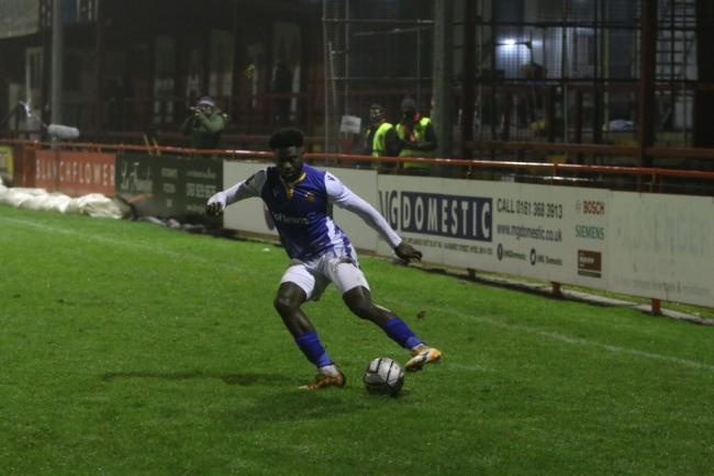 Jacob Mendy opened the scoring for Wealdstone Picture: Jon Taffel