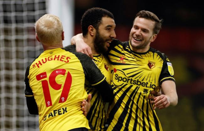 Troy Deeney told Watford players how much they needed to improve. Picture: Action Images