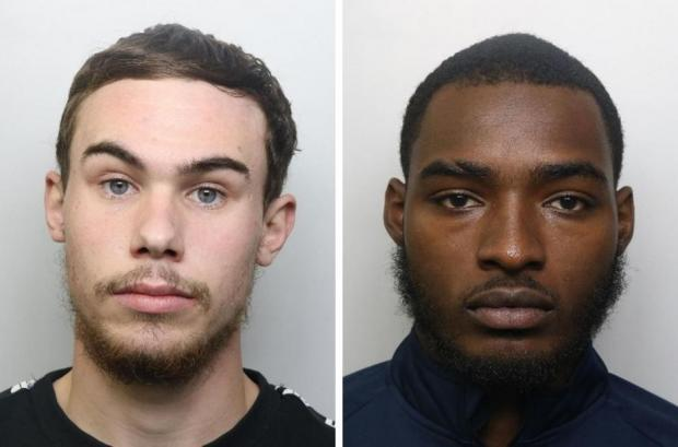 Harrow Times: Alex Lanning and Jonathan Camille. Credit: British Transport Police