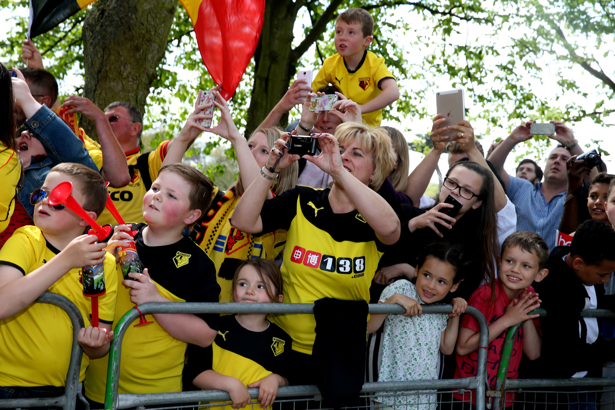 Watford Promotion Party