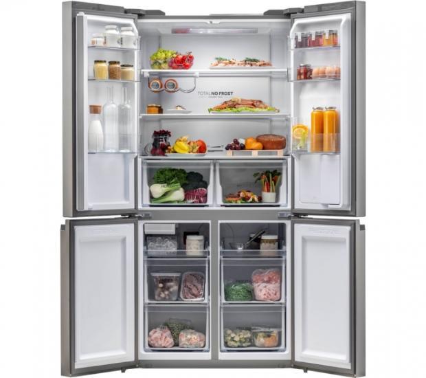 Harrow Times: Haier American Style Fridge Freezer. (Currys PC World and Carphone Warehouse)