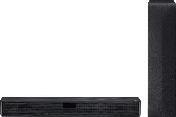 Harrow Times: LG Bluetooth Soundbar with Wireless Subwoofer. (AO)