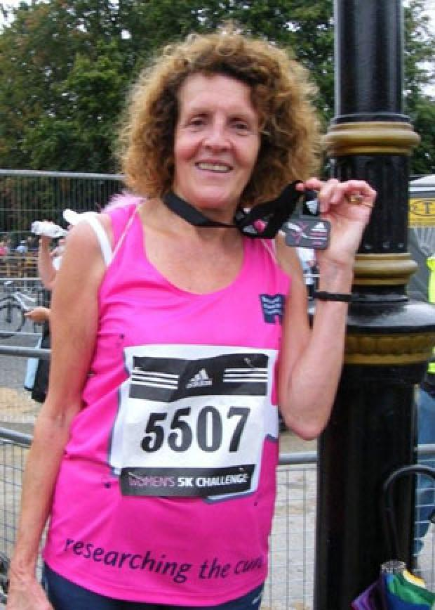 Maureen Batterbee will run for Breast Cancer Research