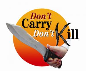 Government backs Don't Carry Don't Kill with tough new knife crim