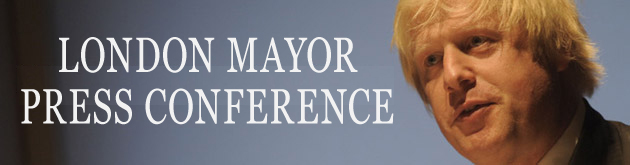 Mayor's press conference header
