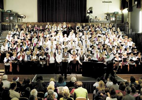 The Tonic Choir performs in Harrow and Camden this weekend