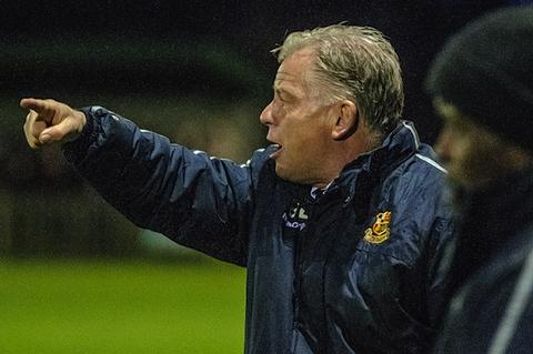 Wealdstone boss Gordon Bartlett: Steve Foster/Wealdstone FC
