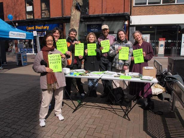 Harrow Green Party campaign for upcoming GLA elections