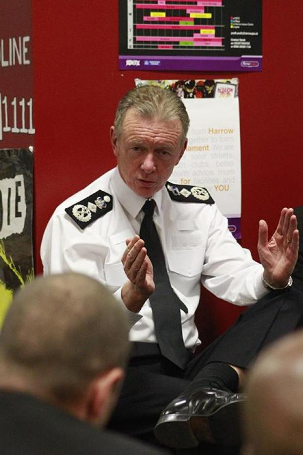 Bernard Hogan-Howe opens new MASH unit