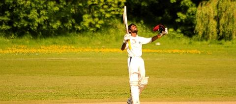 Jenson Singarajah hit a half-century for the side