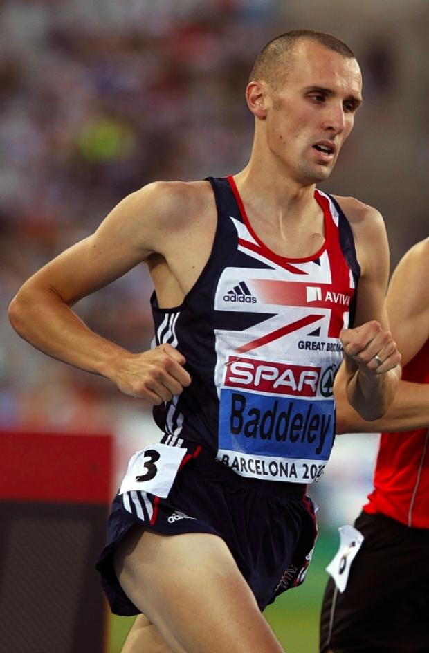 Andy Baddeley is in the running for an Olympic place: Action Images