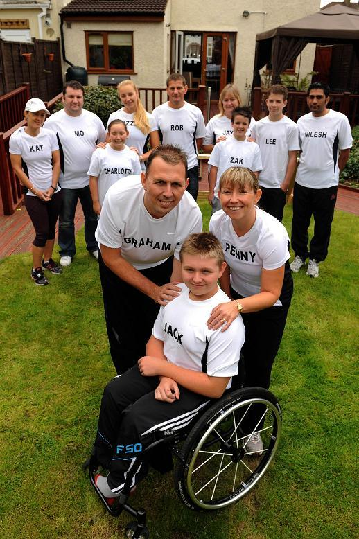 Wheelchair athlete Jack Binstead from Chessington was snubbed