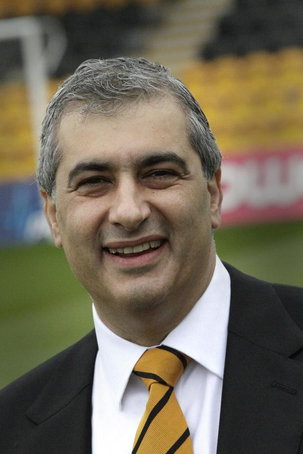 Chairman Tony Kleanthous has led the move away from Underhill.