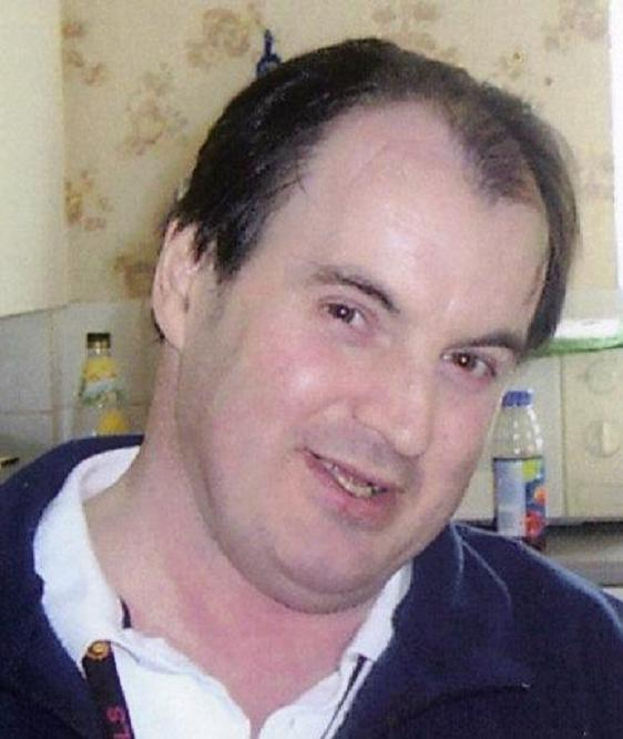 Mr Bain, who was left paralysed after the 2004 attack.