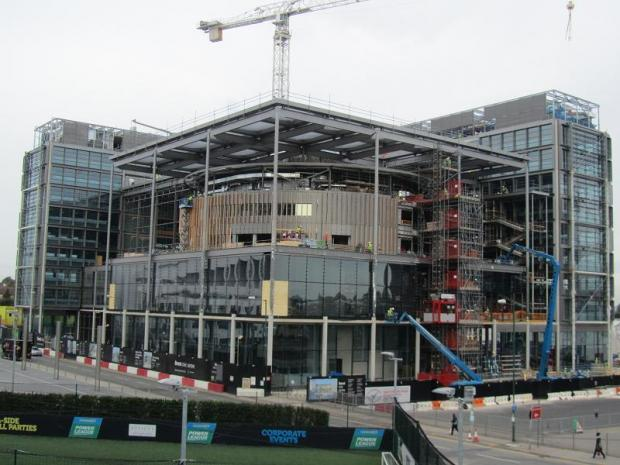 It is hoped that the Civic Centre will be the UK's greenest public building