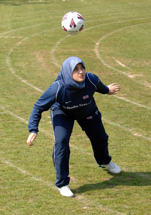 Rimla Akhtar captained the British Muslim Women's side in Iran in 2005.