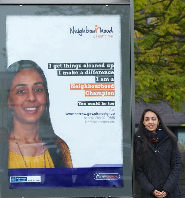 Krishna Tulsania, who signed up to the scheme nearly two years ago, is the face of the campaign.