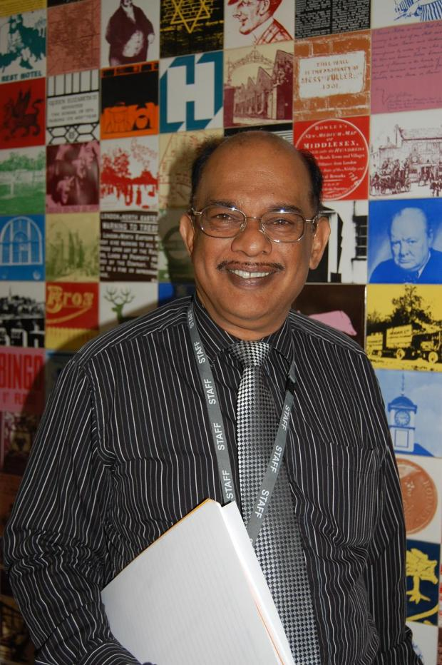 Harrow's council leader Thaya Idaikkadar