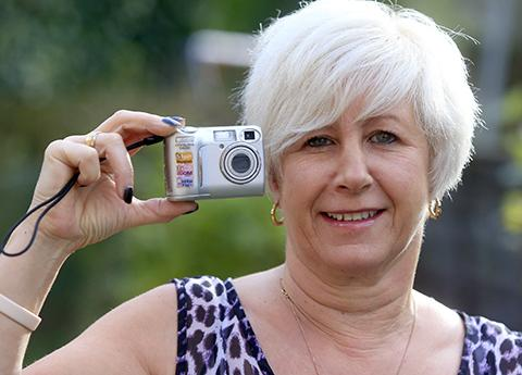 Burglary victim tries to track down owner of missing camera