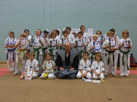 Ishin Ryu Ju Jitsu students from Harrow have completed their gradings