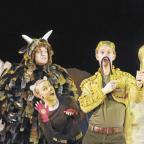 Harrow Times: The cast of The Gruffalo in action. (Photo credit - Alastair Muir.)