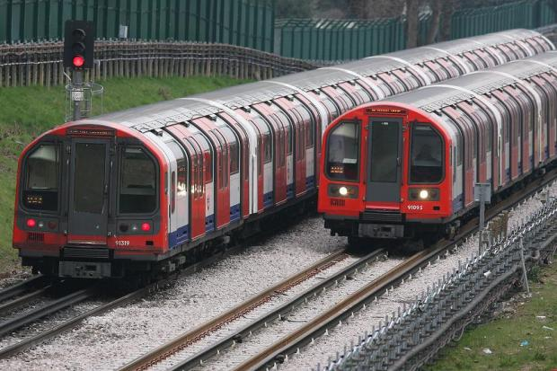 Metropolitan line partly suspended