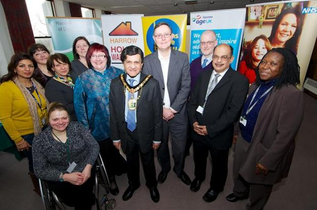 Harrow Times: People from all of the organisations involved attended the launch on Friday