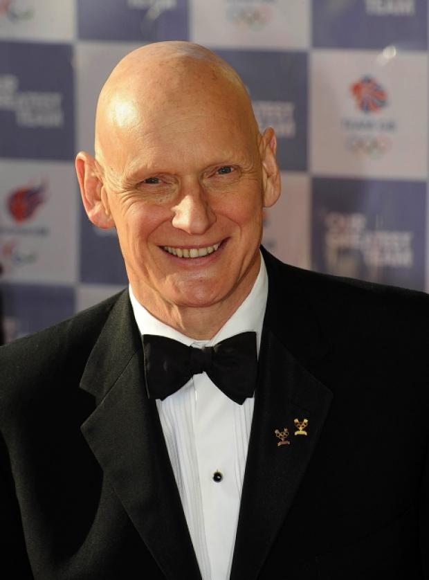 Duncan Goodhew launched the Swimathon: Action Images