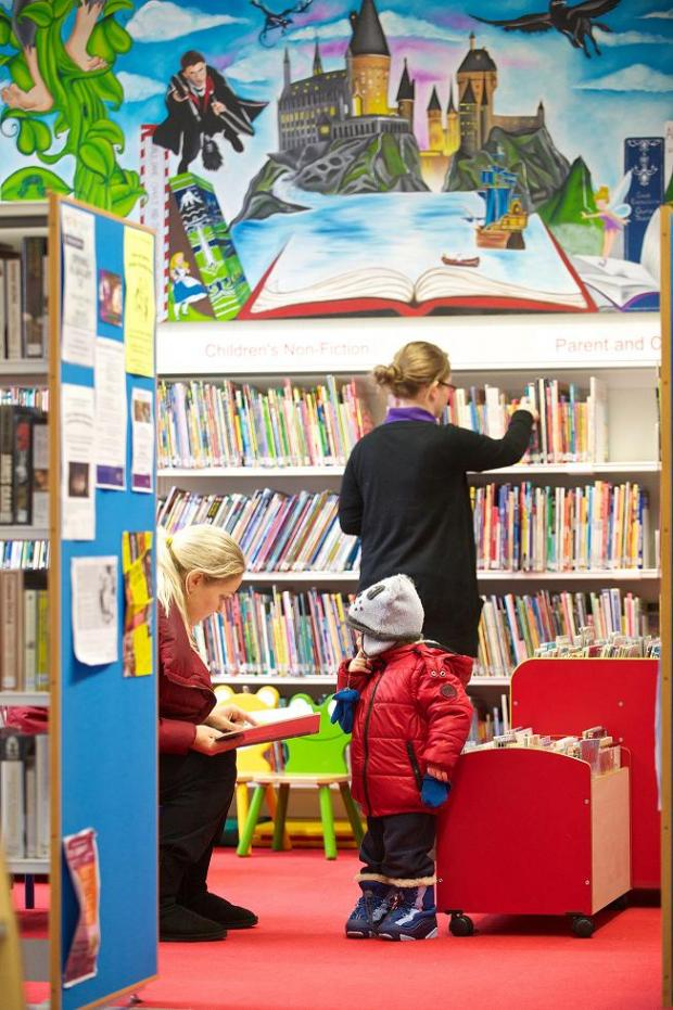 Hatch End Library is popular with local people
