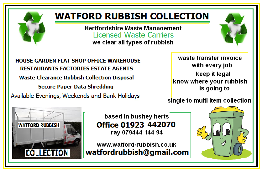 watford Rubbish Collection waste disposal