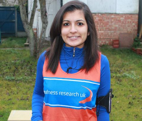 Audiologist runs two marathons in two months for charity