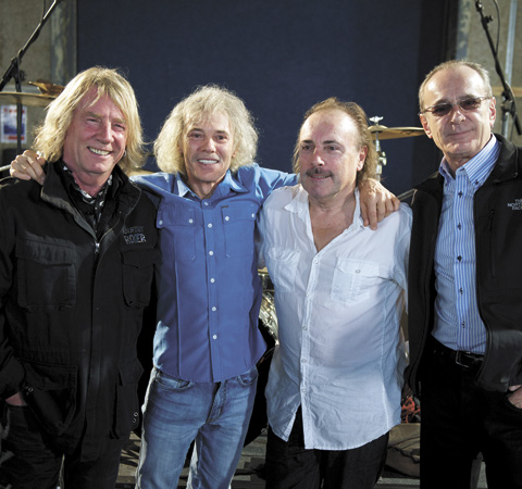 The original four members of Status Quo reunite for short tour - interview with drummer John Coghlan