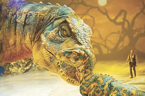 Harrow Times: Walking with dinosaurs