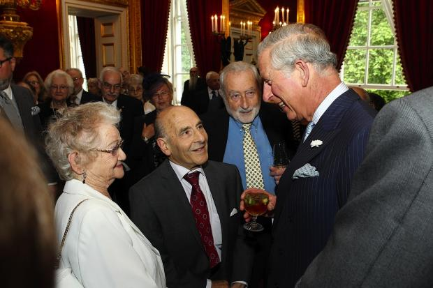 Harrow Times: Kindertransport refugees Ann and Bob Kirk meet HRH The Prince of Wales