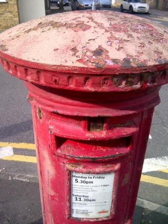 Author and former Harrow schoolboy Anthony Trollope is credited with bringing the pillar box to the UK