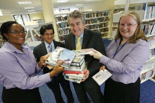 Library contractor takes over running of borough's services