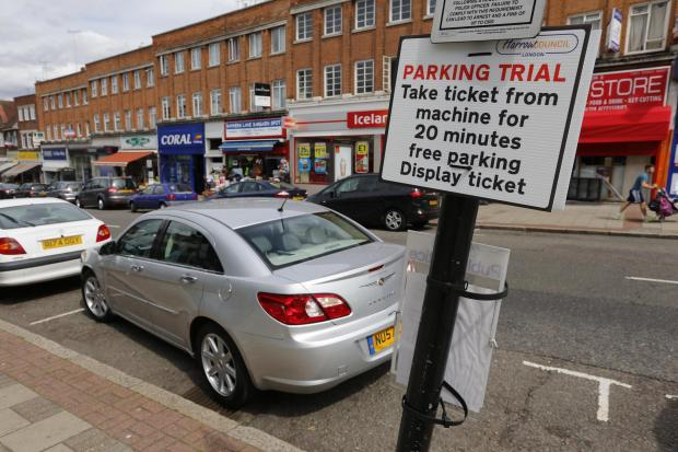 Harrow Times: Free parking decision to be reviewed
