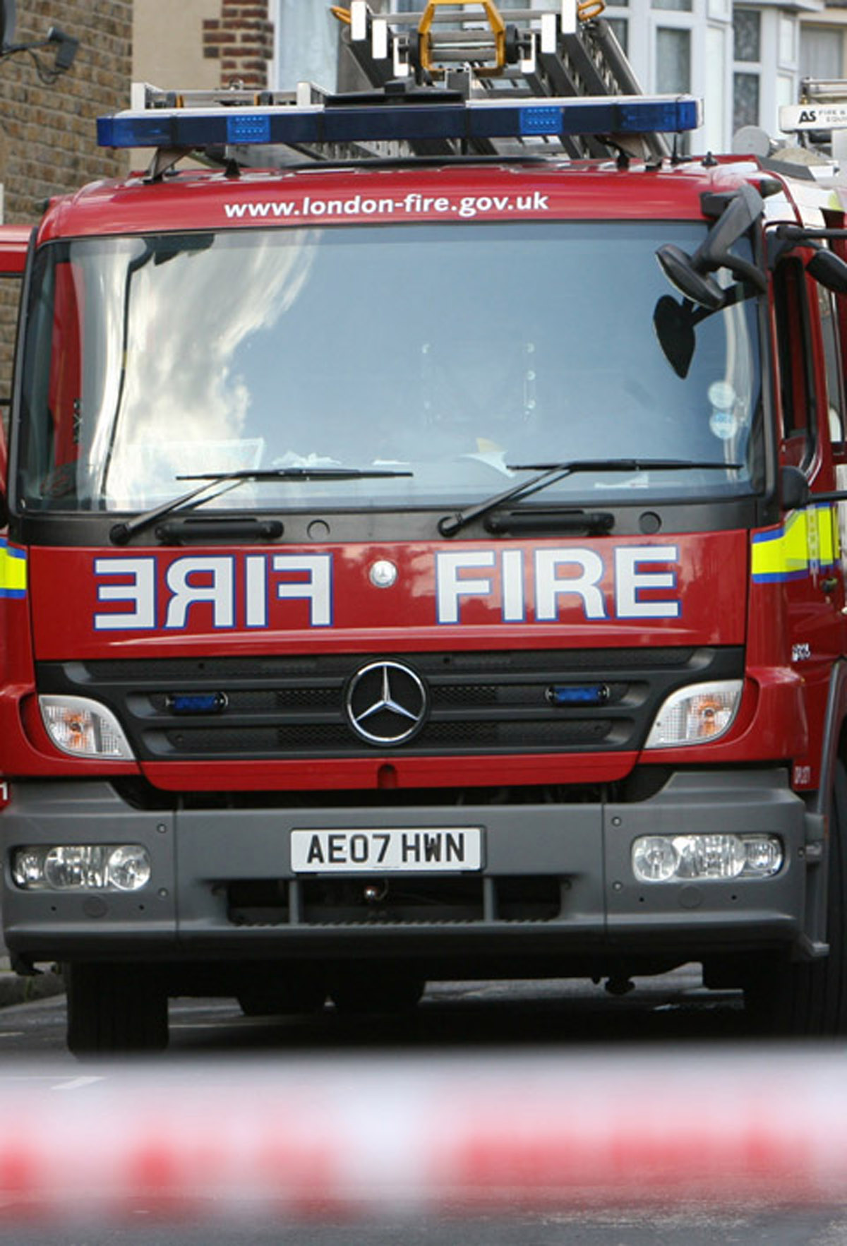 Man rescued from care home fire