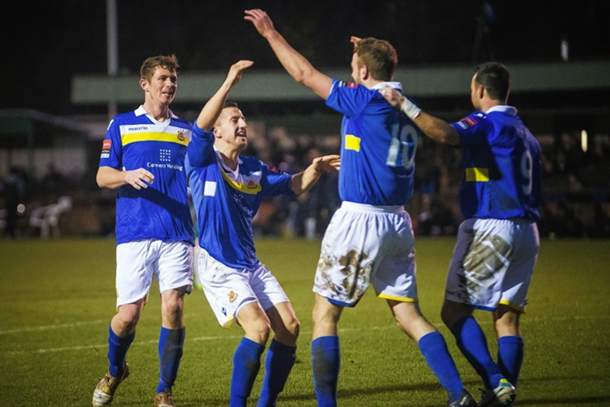 The Stones are still in the running for promotion from the Ryman Premier Division: Steve Foster/Wealdstone FC