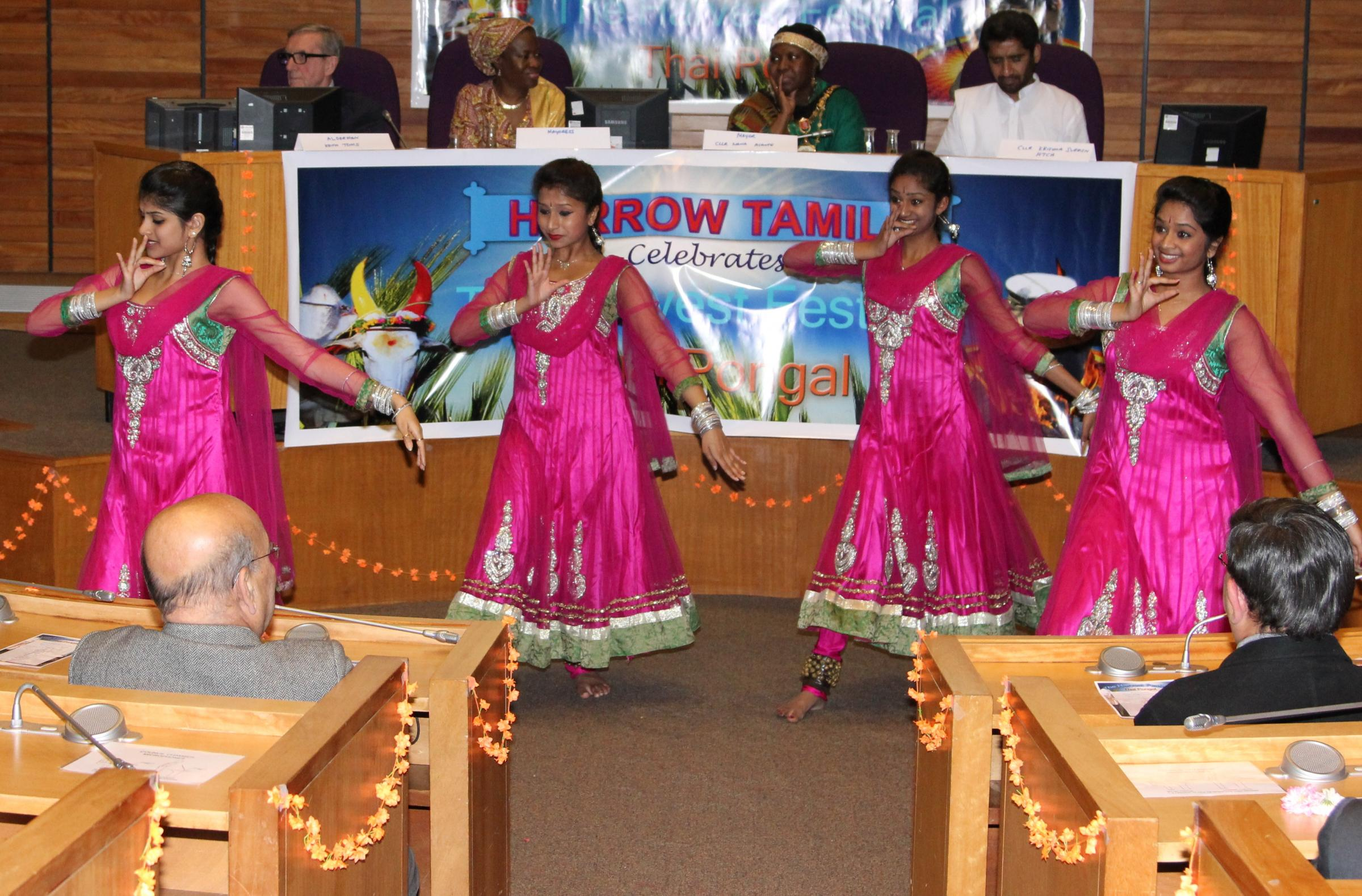Community celebrates Thai Pongal harvest festival