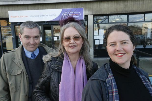 Richard Turner, Linda Robinson and Georgia Weston all hope to stand as independents in the May elections