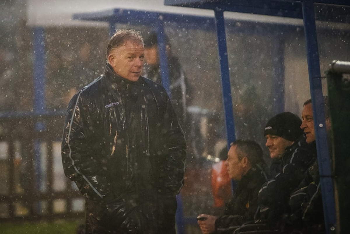 Gordon Bartlett's side face a fixture pile-up over the next few months: Steve Foster/Wealdstone FC